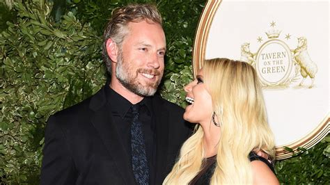jessica simpsons son ace adorably brings dad eric johnson