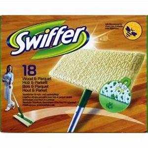 swiffer lingette seche pour sweeper balai 18 pieces With lingette parquet