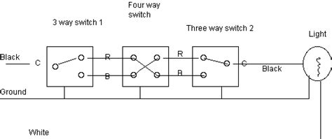 intermediate switch wiring diagram pdl technical diagrams
