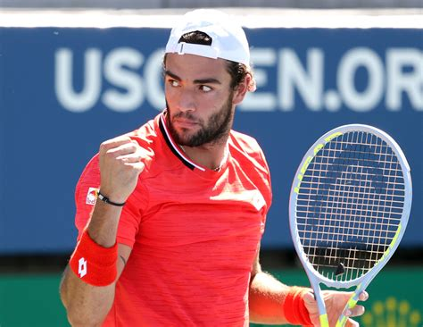 Born 12 april 1996) is an italian tennis player.3 berrettini has a career high atp singles ranking of world no. Matteo Berrettini aims to help his US Open fan Giovanni Bartocci