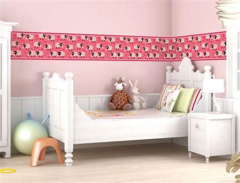 Kinderzimmer Mädchen Bordüre by Schafe Als Bord 252 Re F 252 R Kinderzimmer I Wandtattoo De