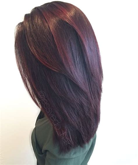 violet hair color formulas violet hair color with balayage highlights on