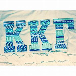 painted sorority letters krafty kappa you had me at a With wooden greek letters painted