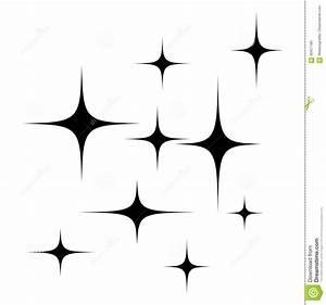 Stars Silhouette Vector Symbol Icon Design. Stock Vector ...