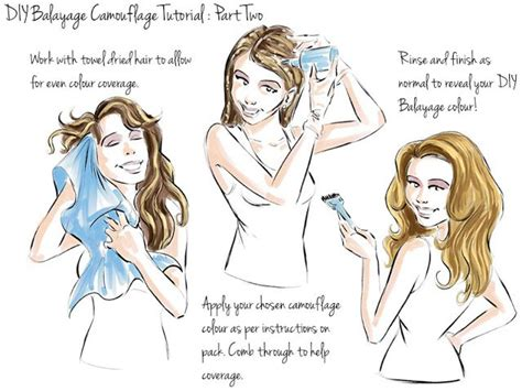 how to color your hair at home useful tips for coloring your hair at home pretty designs