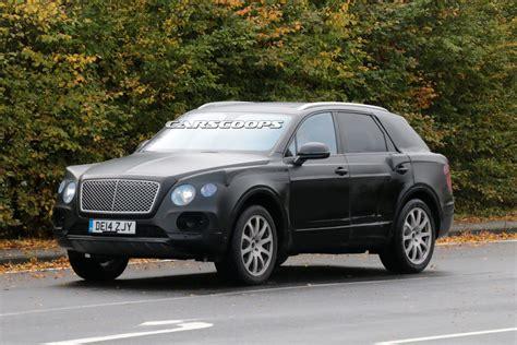 Bentley's 2017 Suv Spied Testing With 6.0-liter W12 Engine