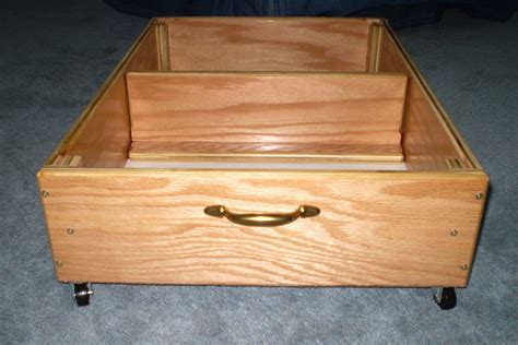 bed drawers with wheels 29 bed storage on casters rolling underbed storage