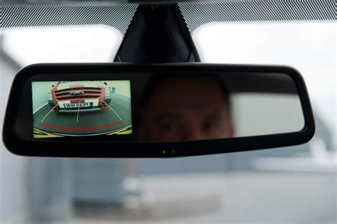Webcam Mirror by Ford Fiesta Gets New Rearview Mirror Mounted Camera