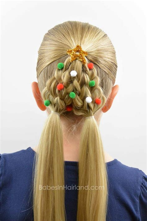 christmas tree hair do braided tree hairstyle in hairland