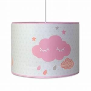 Luminaire Chambre Fille : luminaire nuage pour chambre b b fille ~ Preciouscoupons.com Idées de Décoration