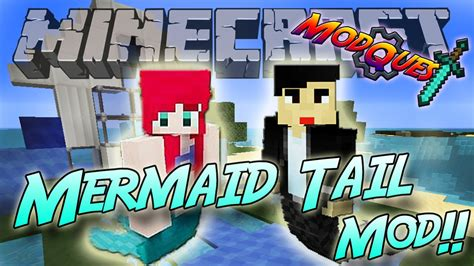 Mermaid Tail Mod! Swim Like A Mermaid!