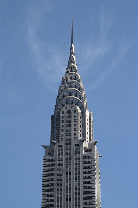 Chrysler Building Ny by New York Skyline Pictures
