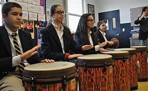 ADOM :: Drumming it up at Good Shepherd
