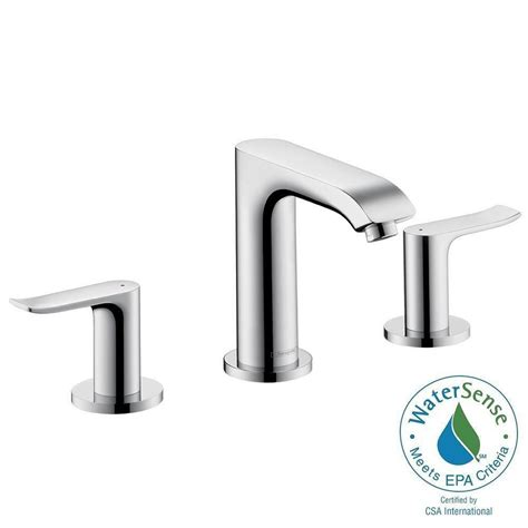 Hansgrohe Metris Kitchen Faucet by Hansgrohe Metris 8 In Widespread 2 Handle Low Arc
