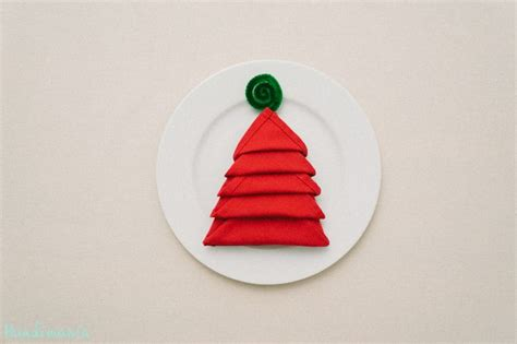christmas napkin fold crafts tips and diy pinterest