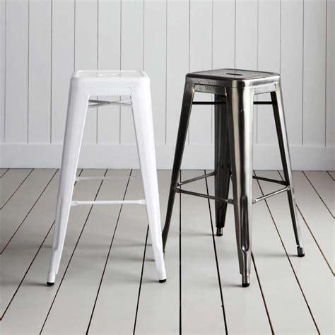 chaise de bar tolix jasper black metal cafe stool buy bar stools modgsi