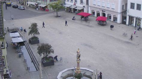 webcam biberach market square