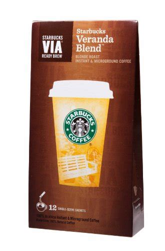 Our coffee masters have distilled their years of tasting knowledge down to three simple questions to help you find a starbucks coffee you're sure to love. Coffee Consumers | Starbucks VIA® Ready Brew Coffee Veranda Blend Blonde Roast (3 Pack/Boxes) 36 ...