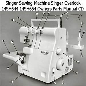 Singer Sewing Machine Manual Cd Singer 14sh644 14sh654