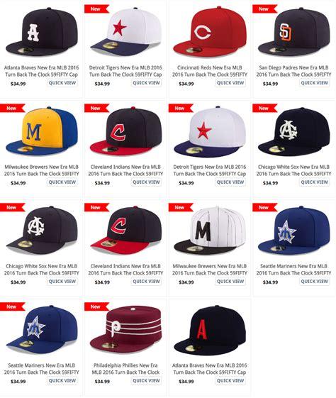 new era logo on mlb hats custard online co uk