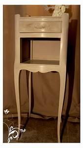 Table De Chevet Romantique : petit chevet romantique les r alisations du grenier de lydia pinterest mobilier de salon ~ Melissatoandfro.com Idées de Décoration