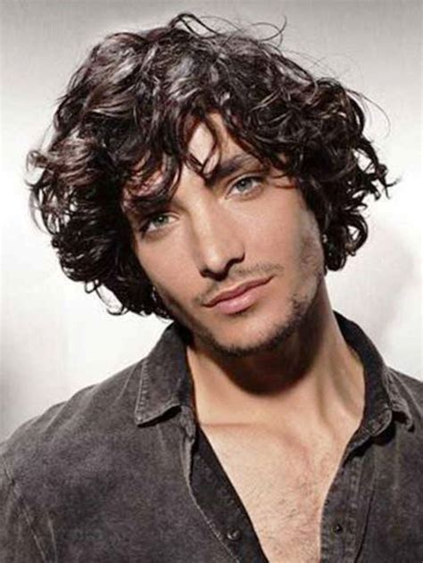 curly hairstyles men haircuts for curly hair 2014 the