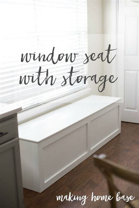 storage bench seating ideas  pinterest window