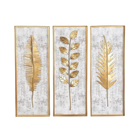 Agreed that moving into a new place entails immense amounts of stress but doing up your living space the way you want it will pay off in. Goodfellow 3 Piece Rectangular Metal Wall Decor Set & Reviews | Joss & Main