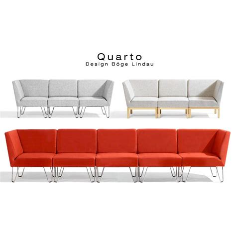 banquette canapé modulable module d 39 angle canapé ou banquette pour salle d 39 attente ou