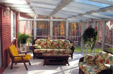 Enclosed Sunroom Ideas by Outdoor Sunrooms Cottage Sunroom Decorating Enclosed