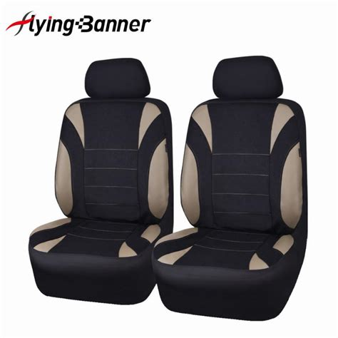 flying banner  front auto seat cover universal car