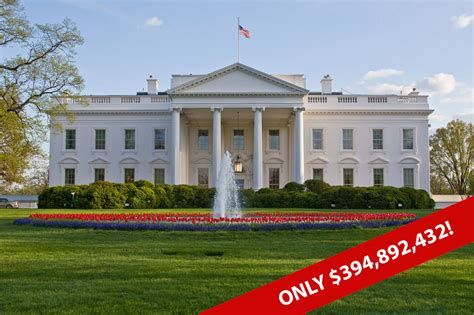 what s the white house worth white house world
