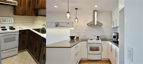 before and after small kitchen makeovers 35 unique small kitchen remodel before and after unique 9090