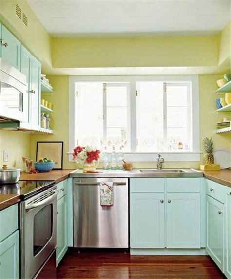 small kitchen colour ideas tiny kitchens with big impact