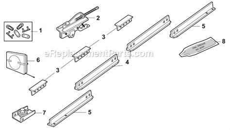 chamberlain garage door parts chamberlain pd200 parts list and diagram