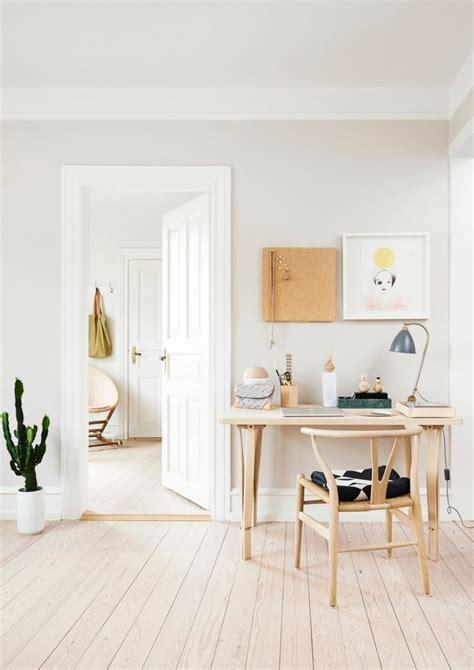 bureau style scandinave bureau scandinave 50 idées pour un coin de travail pratique