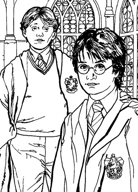 Harry Potter Coloring Pages 2 Coloring Pages To Print