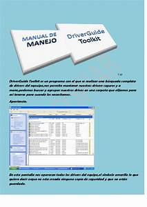 Manual De Manejo De Driver Guide Toolkit