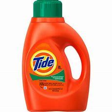 Tide Mountain Spring Scent Liquid Laundry Detergent, 25