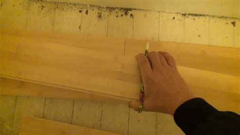 how to lay a bamboo floor how to install a bamboo floor part 1 youtube