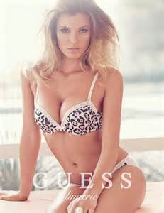 guess lingerie springsummer campaign page