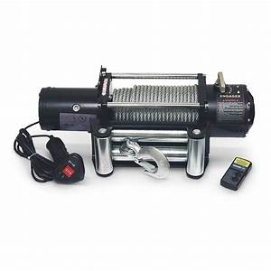 Grip U00ae 9 500 - Lb  Winch