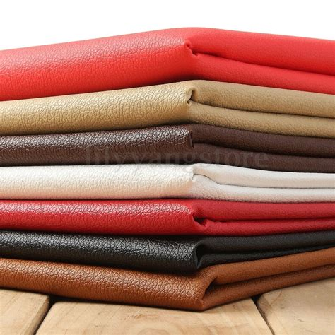 Where To Buy Leather Fabric For Upholstery by Lychee Pu Leathercloth Faux Leather Vinyl Car Interior
