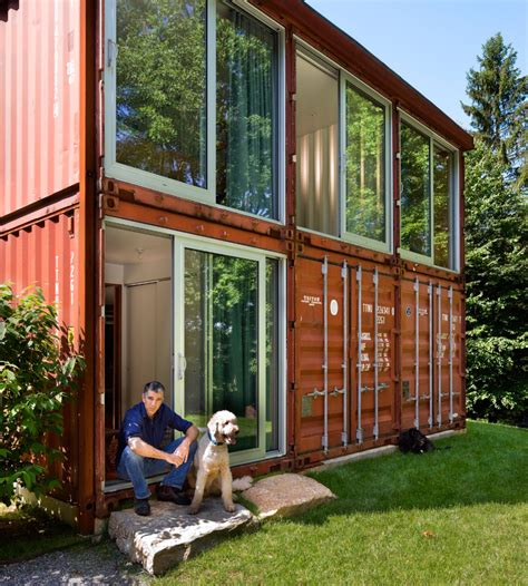 Lady Shipping Container House   Modern Masterpiece