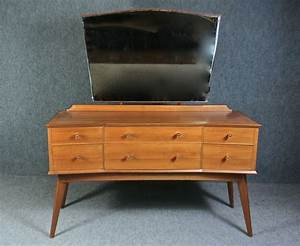 Walnut, Alfred, Cox, For, Handcraft, Dressing, Table