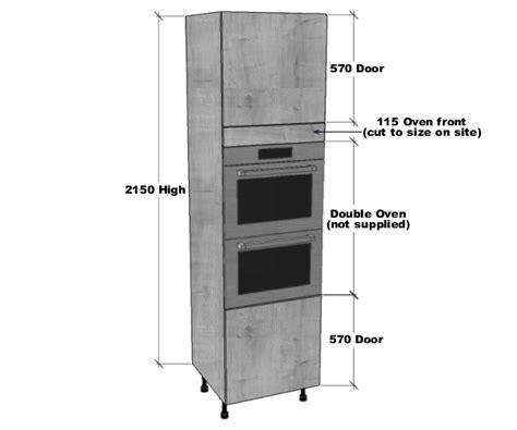Double Oven Housing Unit (2150mm High)   BestQ Kitchens