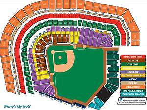 At T Park Seating Chart Where 39 S My Seat Flickr