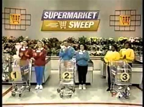 Supermarket Sweep (1994)   Liz & Lisa vs. Brooke & Roy vs. Annette & Gwen   YouTube