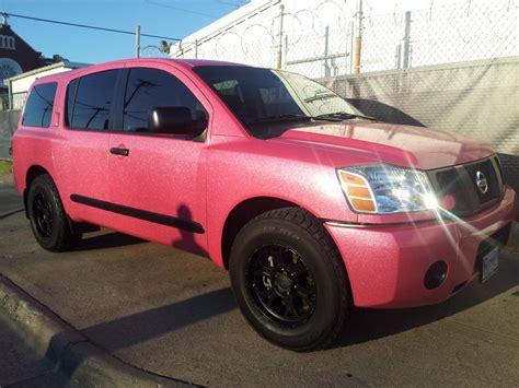 suv wrap sporting  glitter barbie pink  dallas