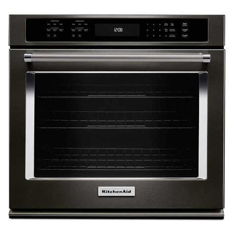 Kitchenaid 27 In Single Electric Wall Oven Selfcleaning